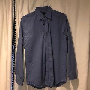 Blue Long Sleeve Button Down